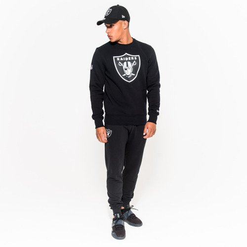Bluza New Era Team Logo Oakland Raiders Crew Neck - 11073792