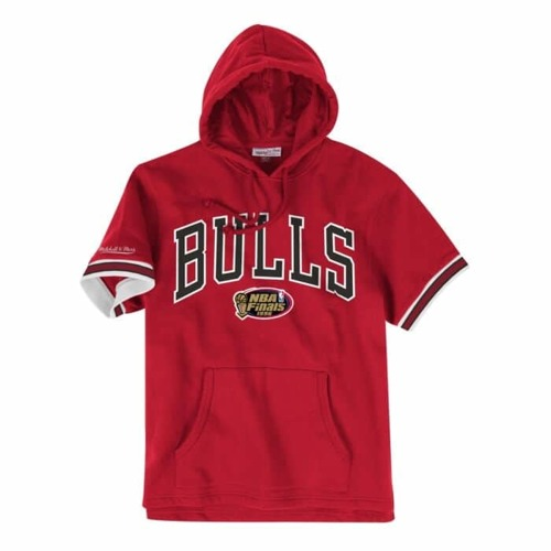 Bluza z kapturem Mitchell & Ness NBA Chicago Bulls French Terry