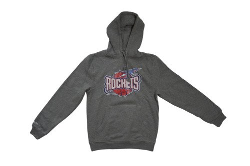 Bluza z kapturem Mitchell & Ness NBA Houston Rockets Team Arch