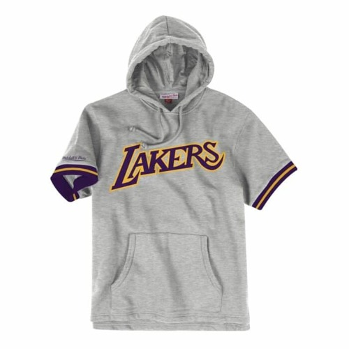 Bluza z kapturem Mitchell & Ness NBA Los Angeles Lakers French Terry