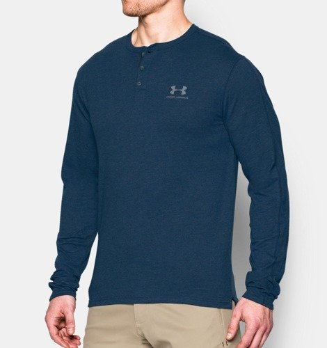 Bluzka Under Armour Sportwear Henley- 1272423-997