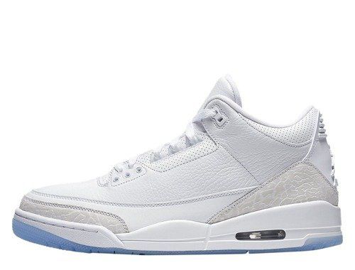 Buty Air Jordan 3 Retro Pure White - 136064-111