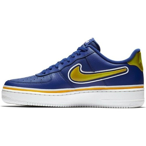 Buty Nike Air Force 1 '07 LV8 Sport NBA Golden State Warriors - AJ7748-400