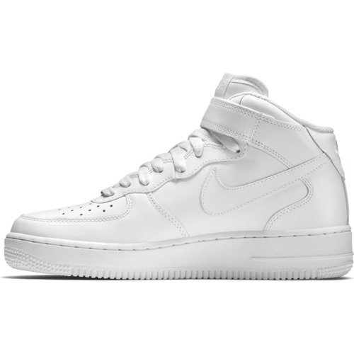 Buty Nike Air Force 1 Mid All White - 315123-111
