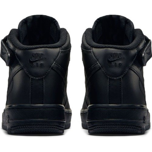 Buty Nike Air Force 1 Mid GS All Black - 314195-004