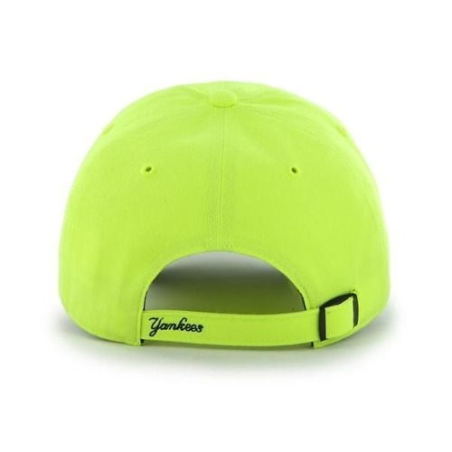 Czapka 47 Brand NY Yankees Clean Up Neon Yellow Strapack - B-CNEON17PTS-NW