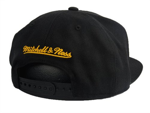 Czapka Mitchell & Ness NBA Golden State Warriors Wool Solid Snapback