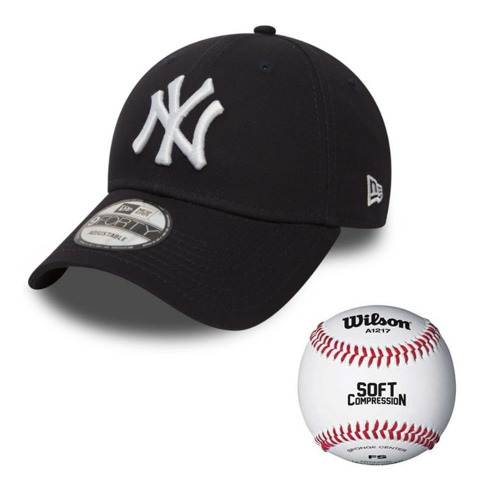 Czapka NEW ERA 9FORTY New York Yankees NY  - 10531939 granat