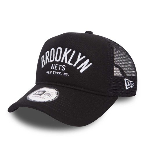 Czapka New Era NBA Brooklyn Nets Chain Stitch Trucker