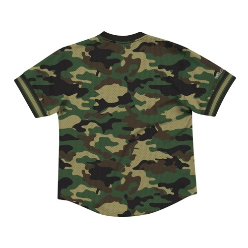 Koszulka Mitchell & Ness NBA Boston Celtics Camo Mesh V-Neck