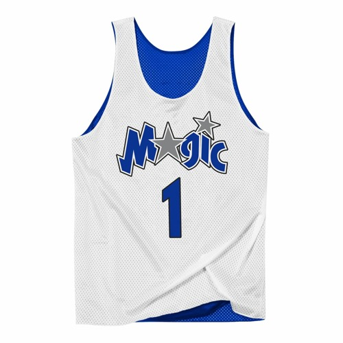 Koszulka Mitchell & Ness NBA Reversible Mesh Tank Orlando Magic Tracy McGrady - NNRMDA18007-OMARYWH1TMC00