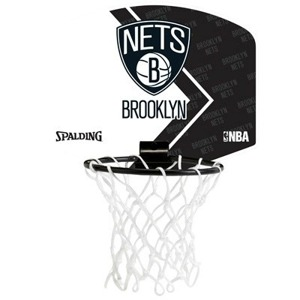 Mini tablica do koszykówki NBA Brooklyn Nets