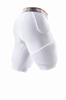 Spodenki McDavid HEX Wrap-Around Basketball Shorts white